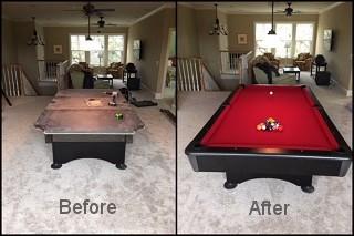 expert pool table repair in Vineland content img2