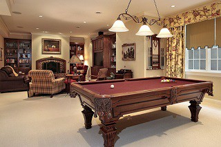 Pool table assembly with perfect leveling in Vineland content img3